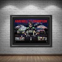 Craig Lowndes Signed 'Farewell to a Champion'1