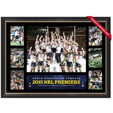 COWBOYS 2015 PREMIERS TRIBUTE FRAME
