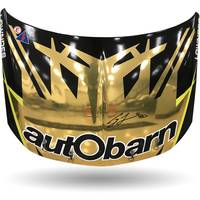 Craig Lowndes Final Round Race-Used Signed Bonnet0