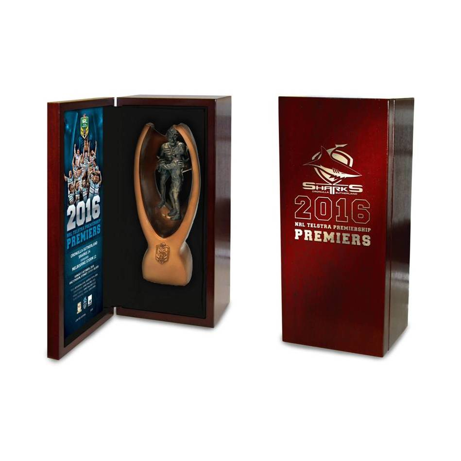 mainCronulla-Sutherland Sharks 2016 Replica Premiers Mini Trophy0