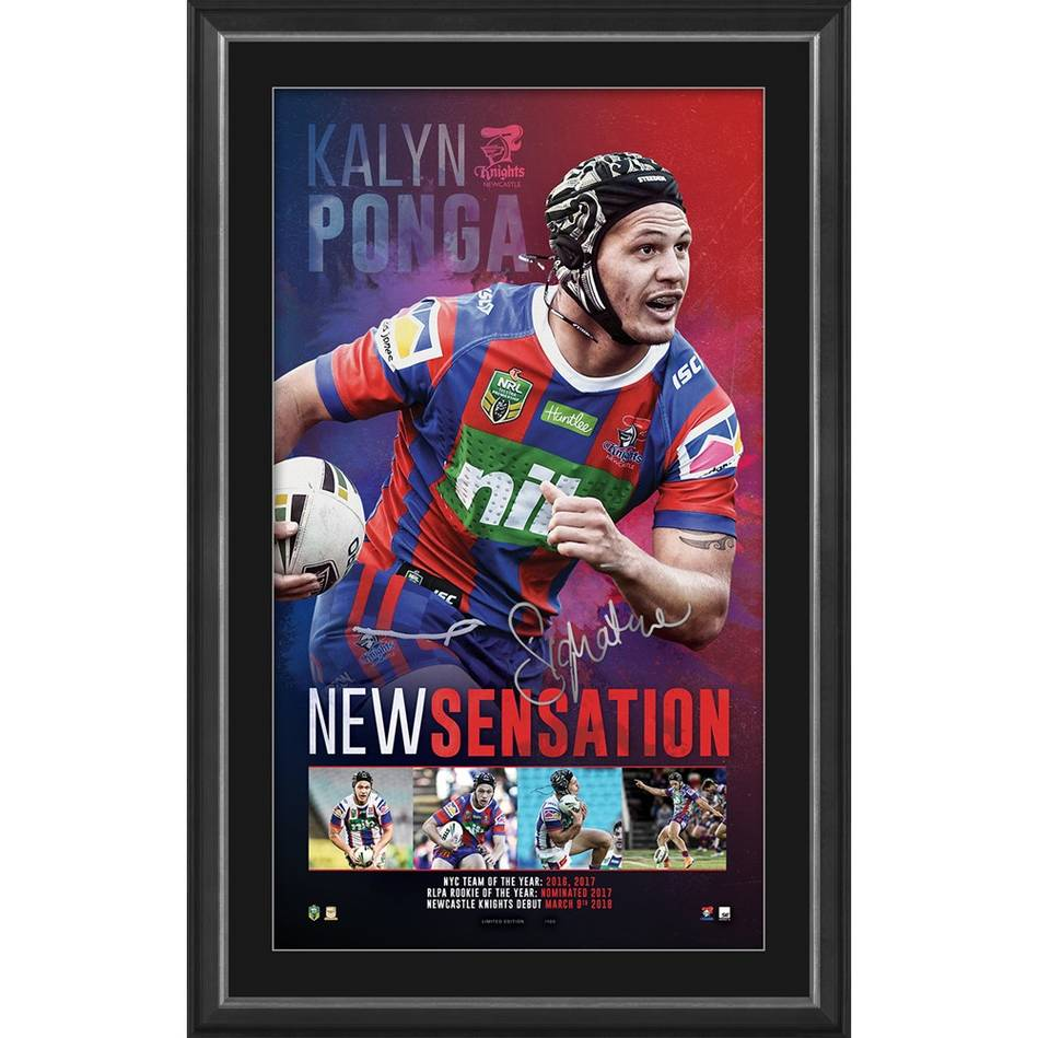 mainKalyn Ponga Signed 'New Sensation'0