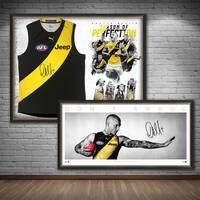 Dustin Martin Signed 'Don't Argue' & 'Season of Perfection' Bundle0
