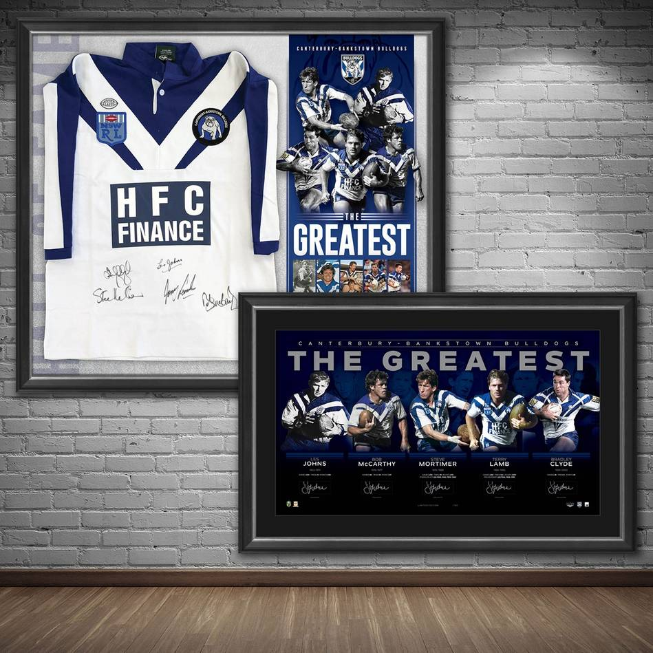 mainCanterbury-Bankstown Signed 'The Greatest' Bundle0