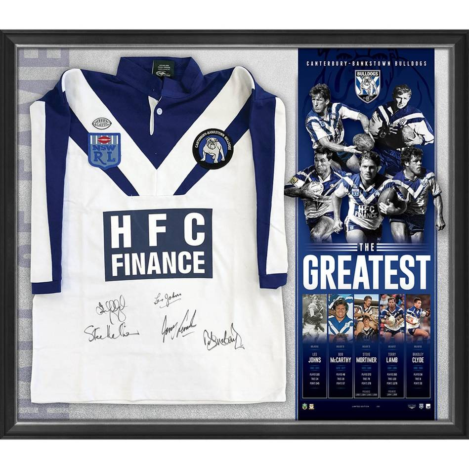 mainCanterbury-Bankstown Signed 'The Greatest' Bundle1