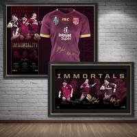Queensland Maroons Signed 'Immortals' Bundle0