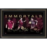 Queensland Maroons Signed 'Immortals' Bundle2
