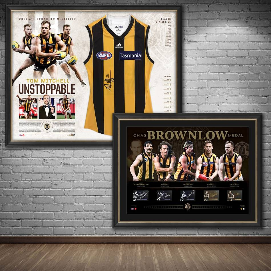 mainHawthorn 2018 Signed Brownlow Medal Bundle0