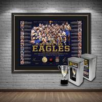 West Coast Eagles 2018 Premiership Lithograph Bundle0