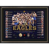 West Coast Eagles 2018 Premiership Lithograph Bundle1