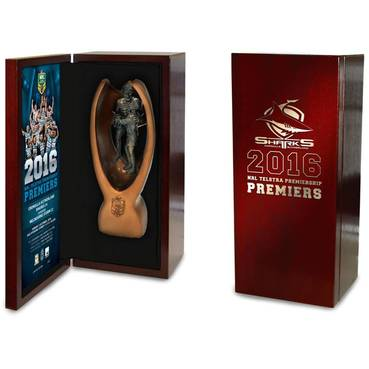 SHARKS 2016 PREMIERS REPLICA MINI TROPHY