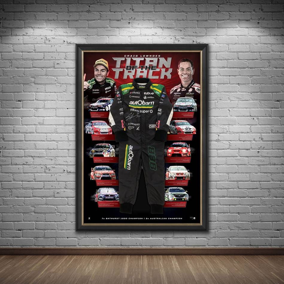 mainCraig Lowndes Signed 'Titan of the Track'1