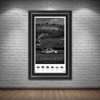 *Edition 1* Craig Lowndes Signed 'Lowndesy'1
