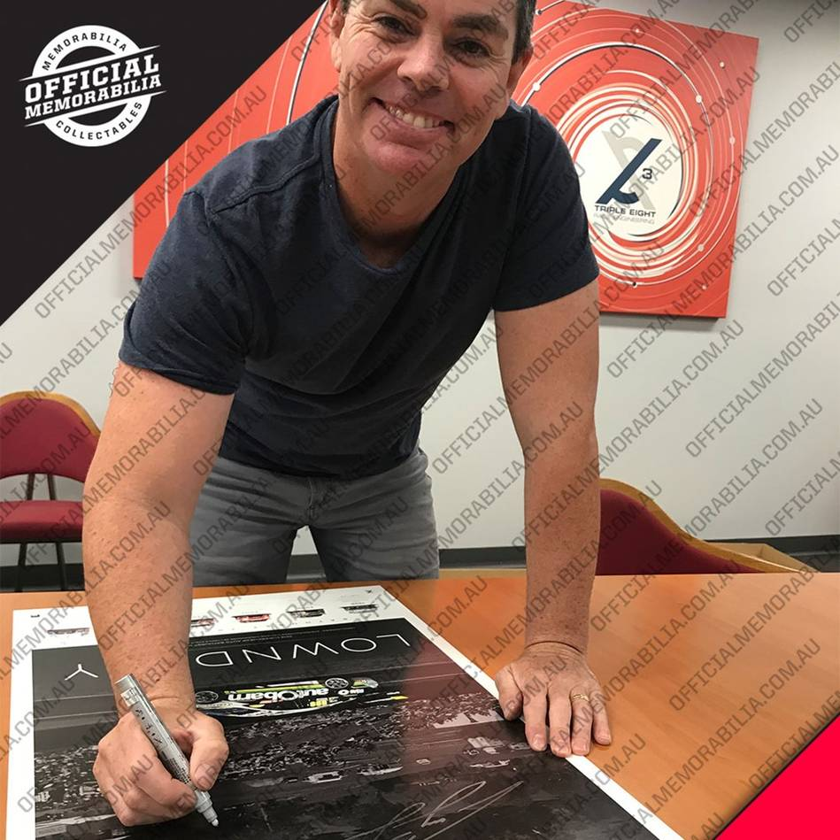 main*Edition 1* Craig Lowndes Signed 'Lowndesy'2