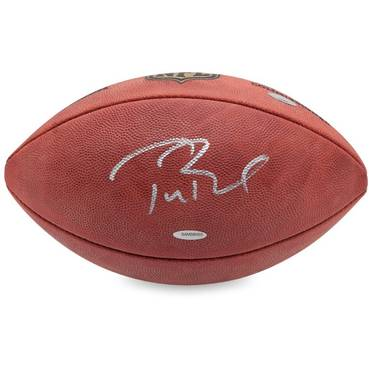 Tom Brady Signed NFL Football
