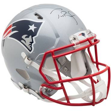 Tom Brady Signed New England Patriots Helmet