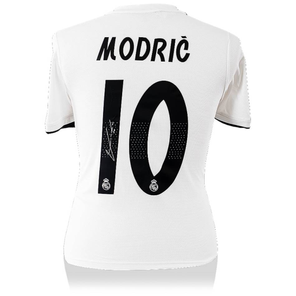 timeless design d74be 588fe Luka Modric Signed Real Madrid Jersey | Luka Modric Signed Official  Memorabilia