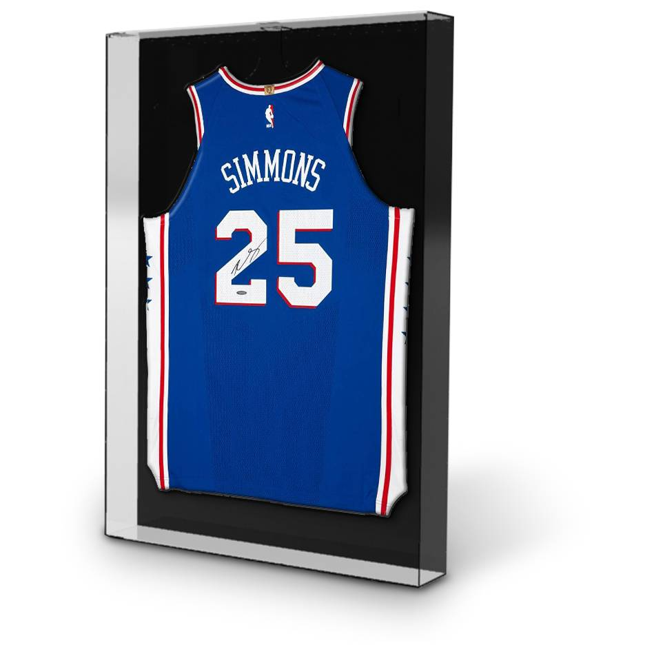 mainBen Simmons Signed 76ers Away Nike Jersey1