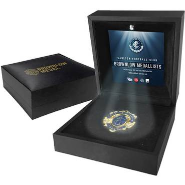 CARLTON BROWNLOW MEDAL DISPLAY
