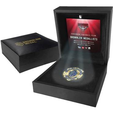 ESSENDON BROWNLOW MEDAL DISPLAY