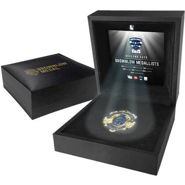 GEELONG CATS BROWNLOW MEDAL DISPLAY
