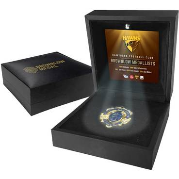 HAWTHORN BROWNLOW MEDAL DISPLAY