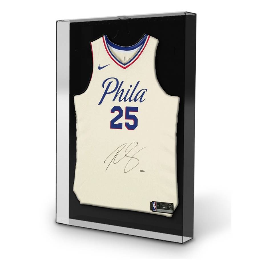 mainBen Simmons Signed 76ers City Edition Nike Jersey1