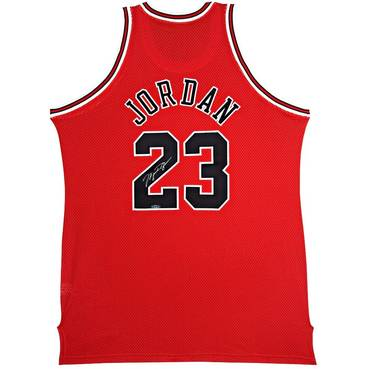 Michael Jordan Signed Chicago Bulls Jersey
