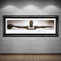 Michael Jordan Signed Nike Wings1