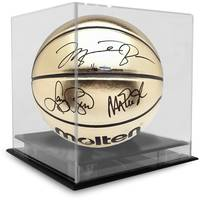 Michael Jordan, Magic Johnson, Larry Bird Signed Basketball1