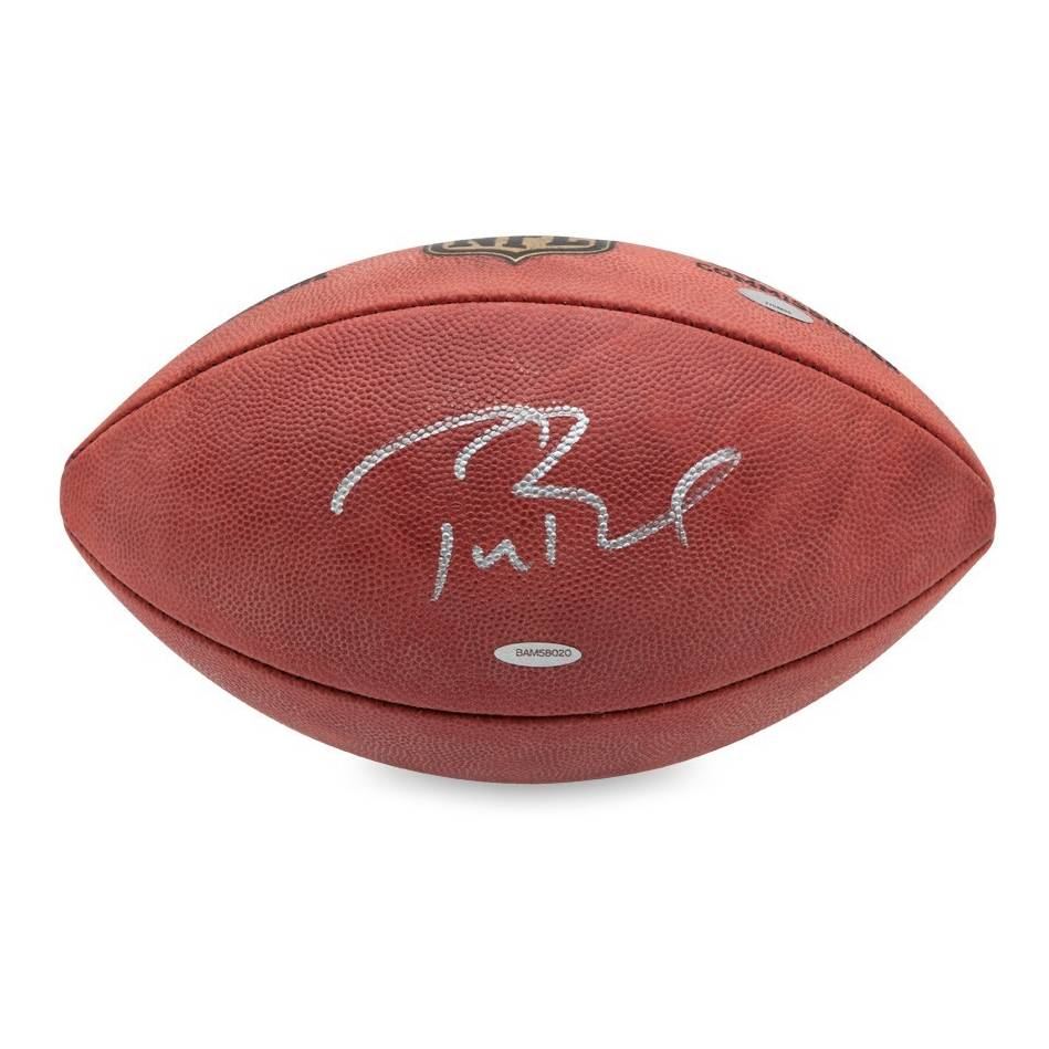 Tom Brady Signed NFL Football  89615fe0a