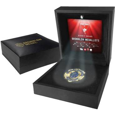 SYDNEY SWANS BROWNLOW MEDAL DISPLAY