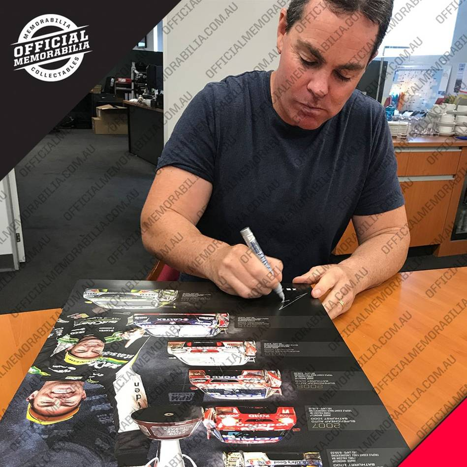 mainCraig Lowndes Signed 'Cometh the Mountain, Cometh the Man'2