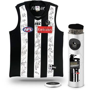 Collingwood Football Club 2019 Team Signed Guernsey