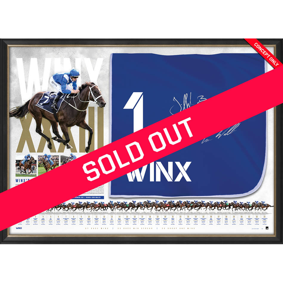 mainWinx Dual Signed Saddlecloth Display0