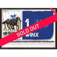 Winx Dual Signed Saddlecloth Display0