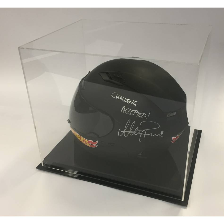 mainAlex Rance Signed Hot Wheels Race Helmet0