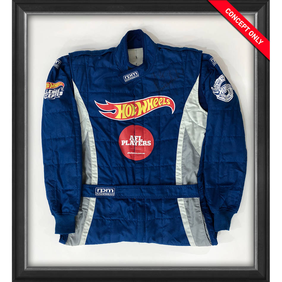 mainPatrick Dangerfield Signed Hot Wheels Race Suit0