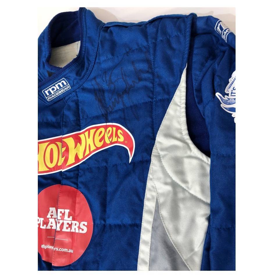 mainPatrick Dangerfield Signed Hot Wheels Race Suit1