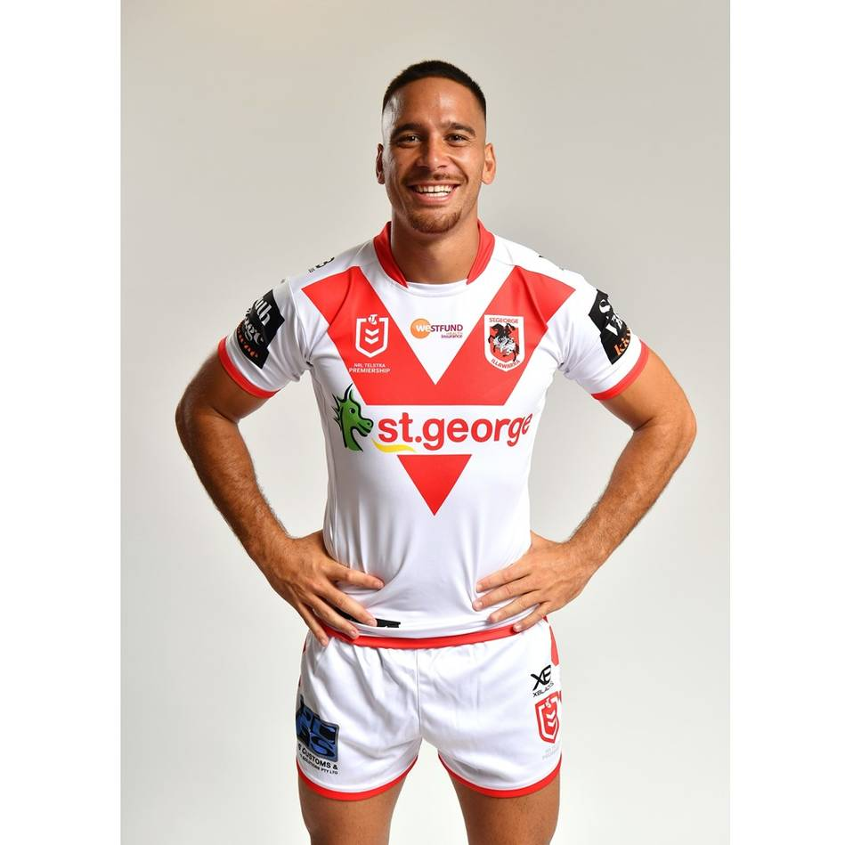 mainCorey Norman - St George Illawarra Dragons 2019 Commemorative Signed Match-Worn Jersey1