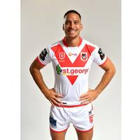 Corey Norman - St George Illawarra Dragons 2019 Commemorative Signed Match-Worn Jersey1