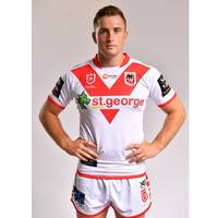 Jacob Host - St George Illawarra Dragons 2019 Commemorative Signed Match-Worn Jersey1