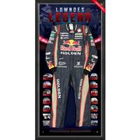 Craig Lowndes Signed 2013 V8 Supercars Championship RBRA Race-Worn Suit0