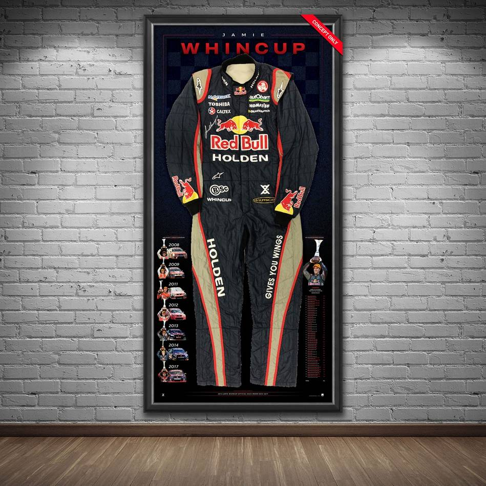 mainJamie Whincup Signed 2013 V8 Supercars Championship RBRA Race-Worn Suit1