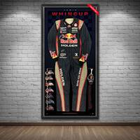 Jamie Whincup Signed 2013 V8 Supercars Championship RBRA Race-Worn Suit1