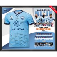 *Pre-Order* Sydney FC Hyundai A-League 2019 Champions Team Signed Jersey0