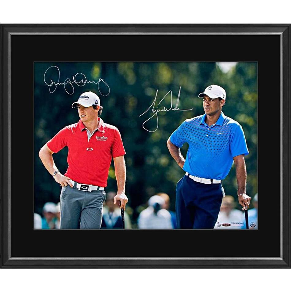 mainTIGER WOODS/RORY MCILROY SIGNED 'FOCUSED'0