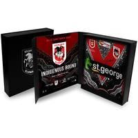 Tim Lafai - St George Illawarra Dragons 2019 Signed Match-Worn Indigenous Jersey0
