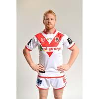 James Graham - St George Illawarra Dragons 2019 Signed Match-Worn Indigenous Jersey1