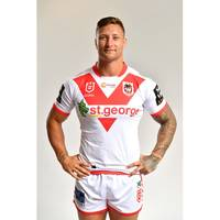 Tariq Sims - St George Illawarra Dragons 2019 Signed Match-Worn Indigenous Jersey1
