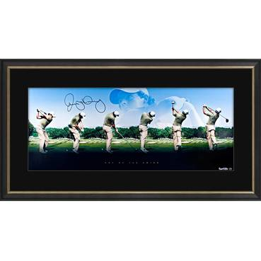 RORY MCILROY SIGNED 'ART OF THE SWING'